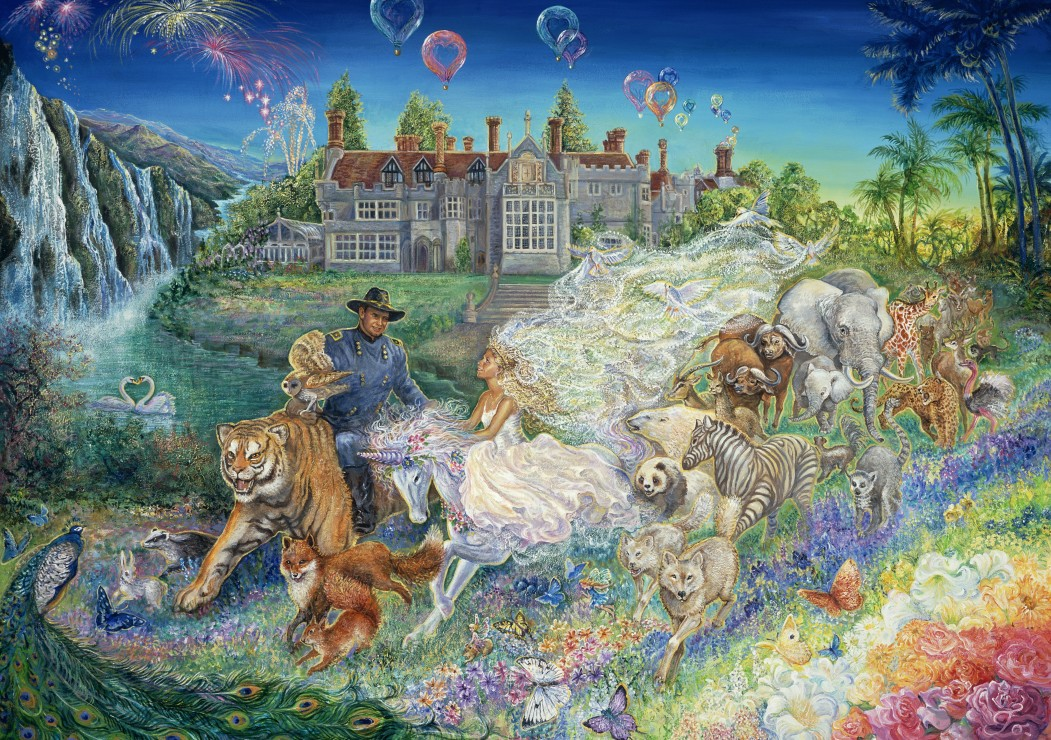 grafika-josephine-wall-fantasy-wedding-1500-teile-puzzle-grafika-t-00264