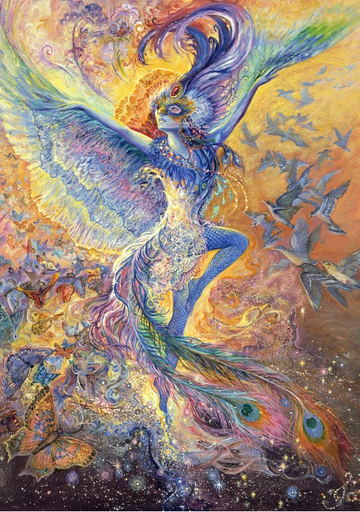 Josephine Wall - Blue Bird