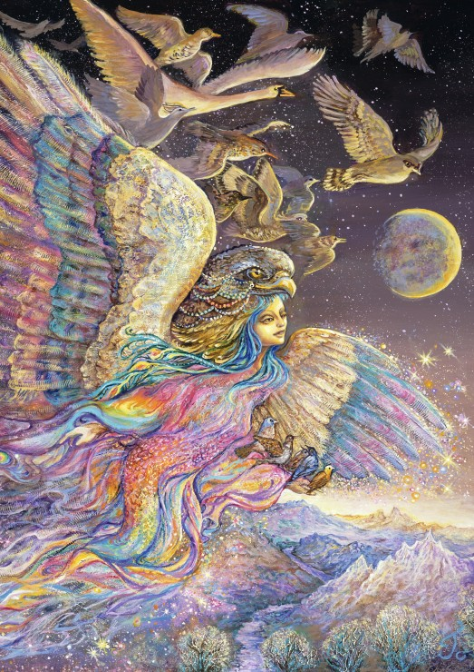 grafika-josephine-wall-ariels-flight-2000-teile-puzzle-grafika-t-00329