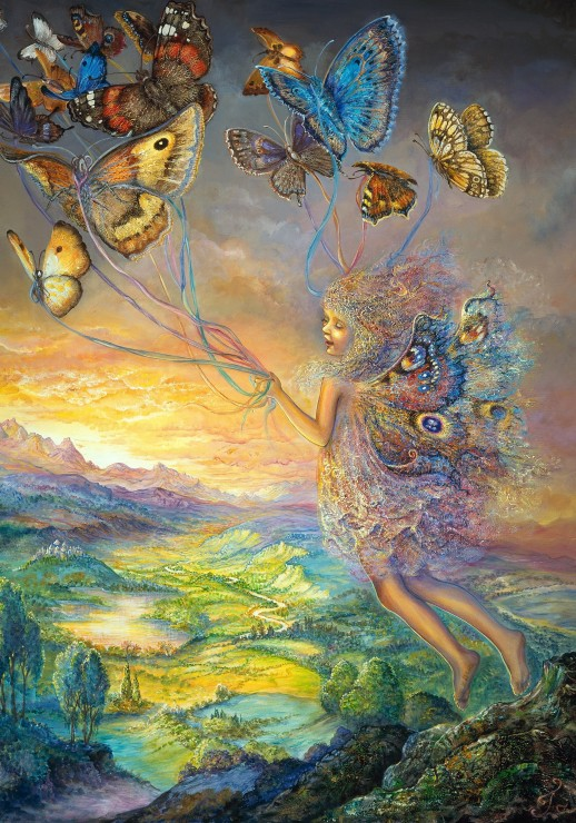 Josephine Wall - Up and Away