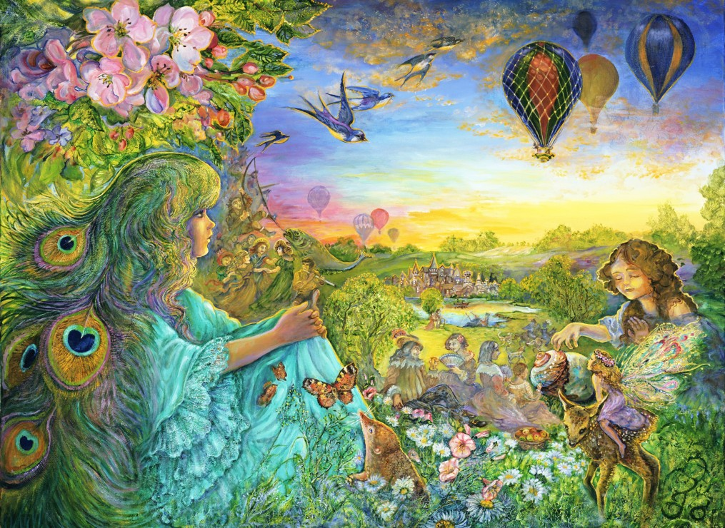 grafika-josephine-wall-daydreaming-300-teile-puzzle-grafika-02618