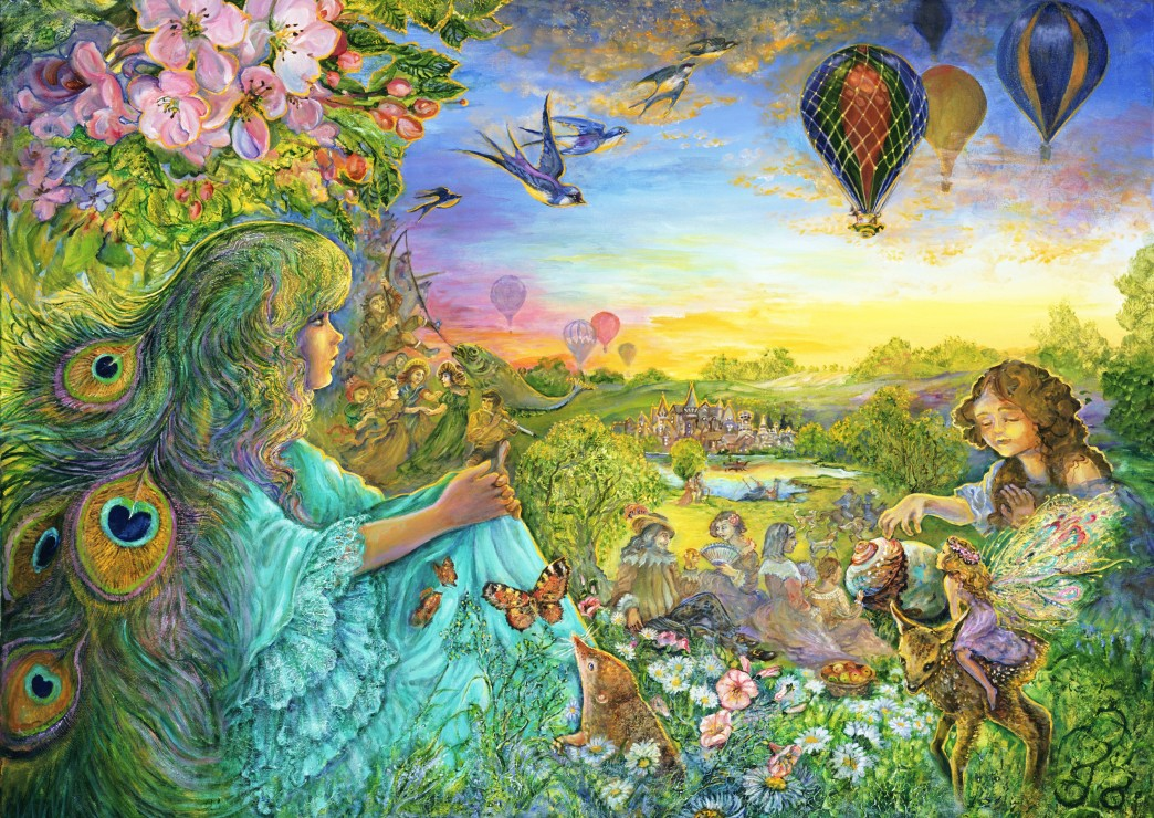 grafika-josephine-wall-daydreaming-1000-teile-puzzle-grafika-t-00531