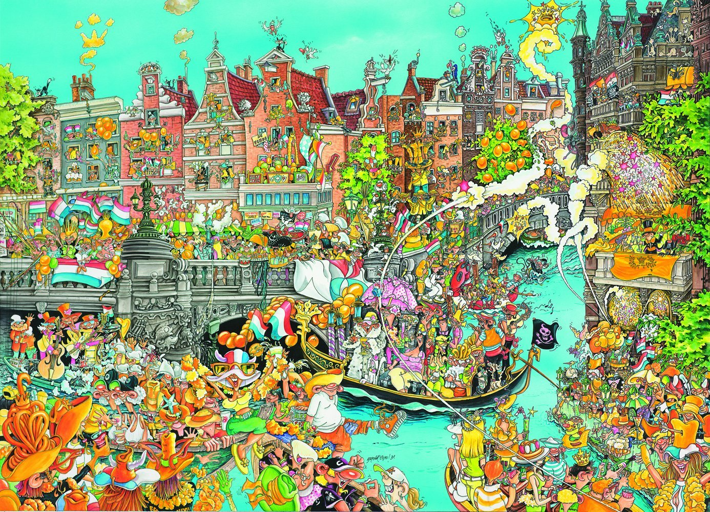king-international-comic-collection-amsterdam-queens-day-1000-teile-puzzle-king-puzzle-05132