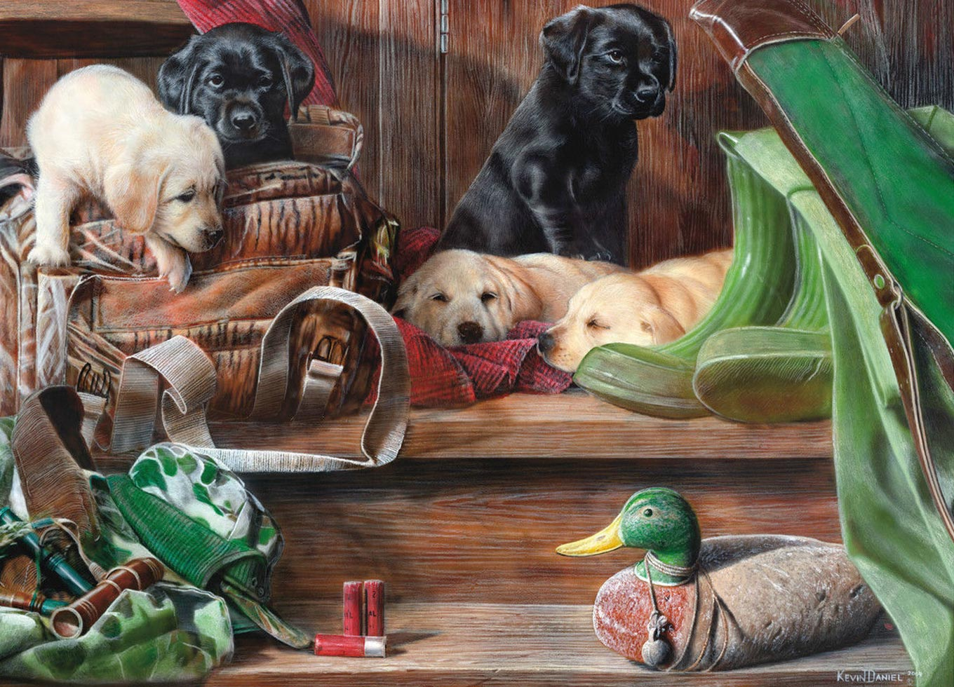 king-international-puppies-on-stairs-1000-teile-puzzle-king-puzzle-05379