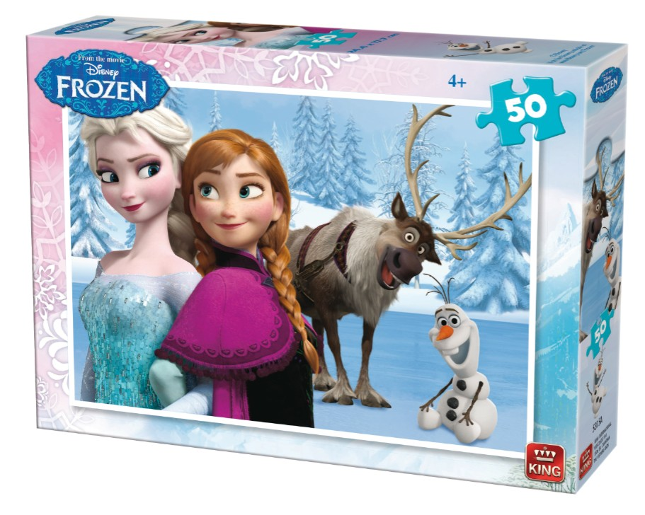 King International Frozen 50 Teile Puzzle King-Puzzle-05315-A
