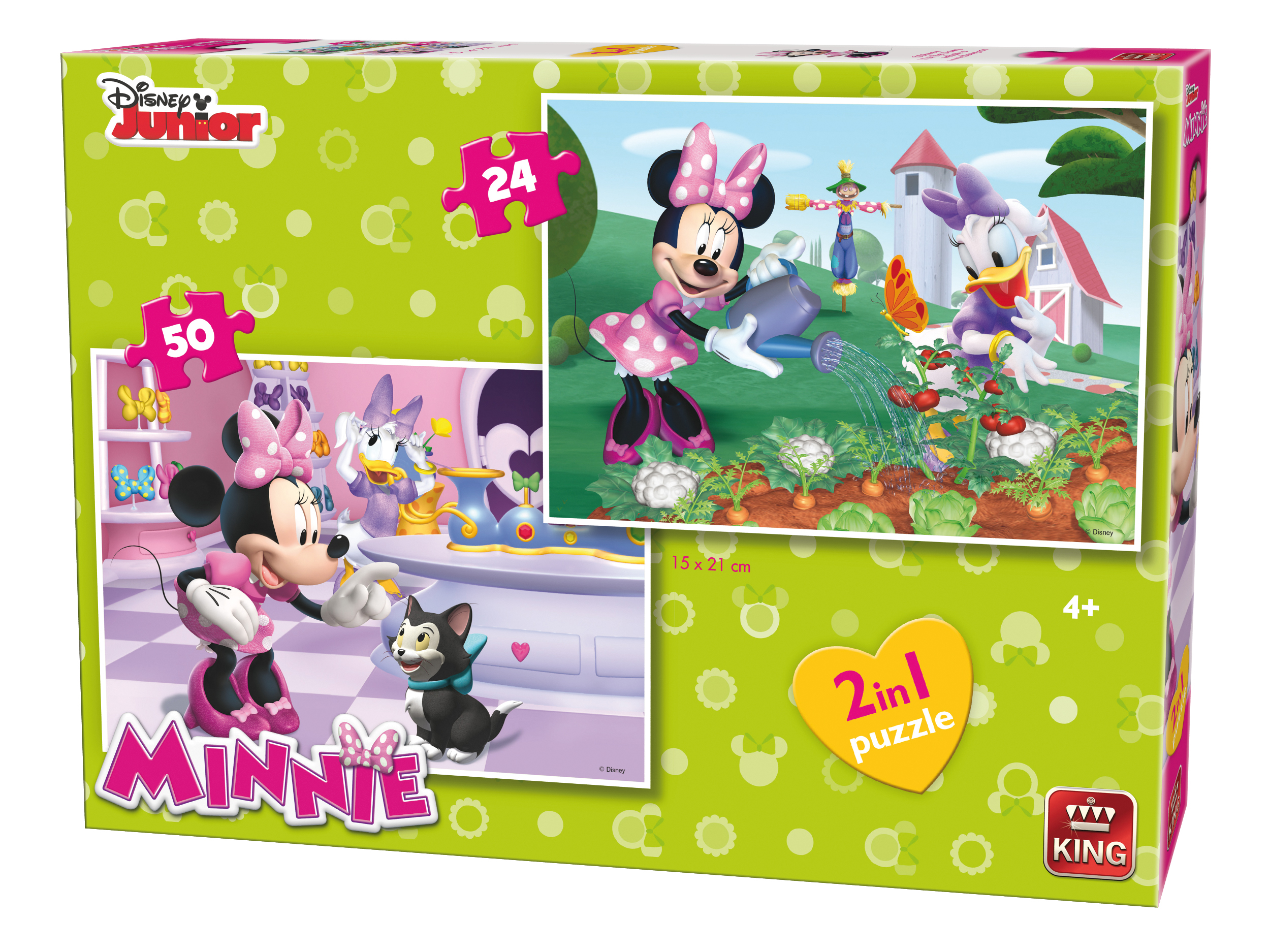 king-international-2-puzzles-minnie-24-teile-puzzle-king-puzzle-05414