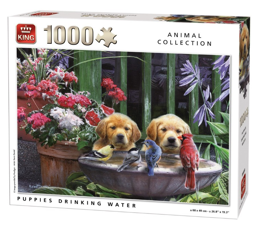 king-international-puppies-drinking-water-1000-teile-puzzle-king-puzzle-05668