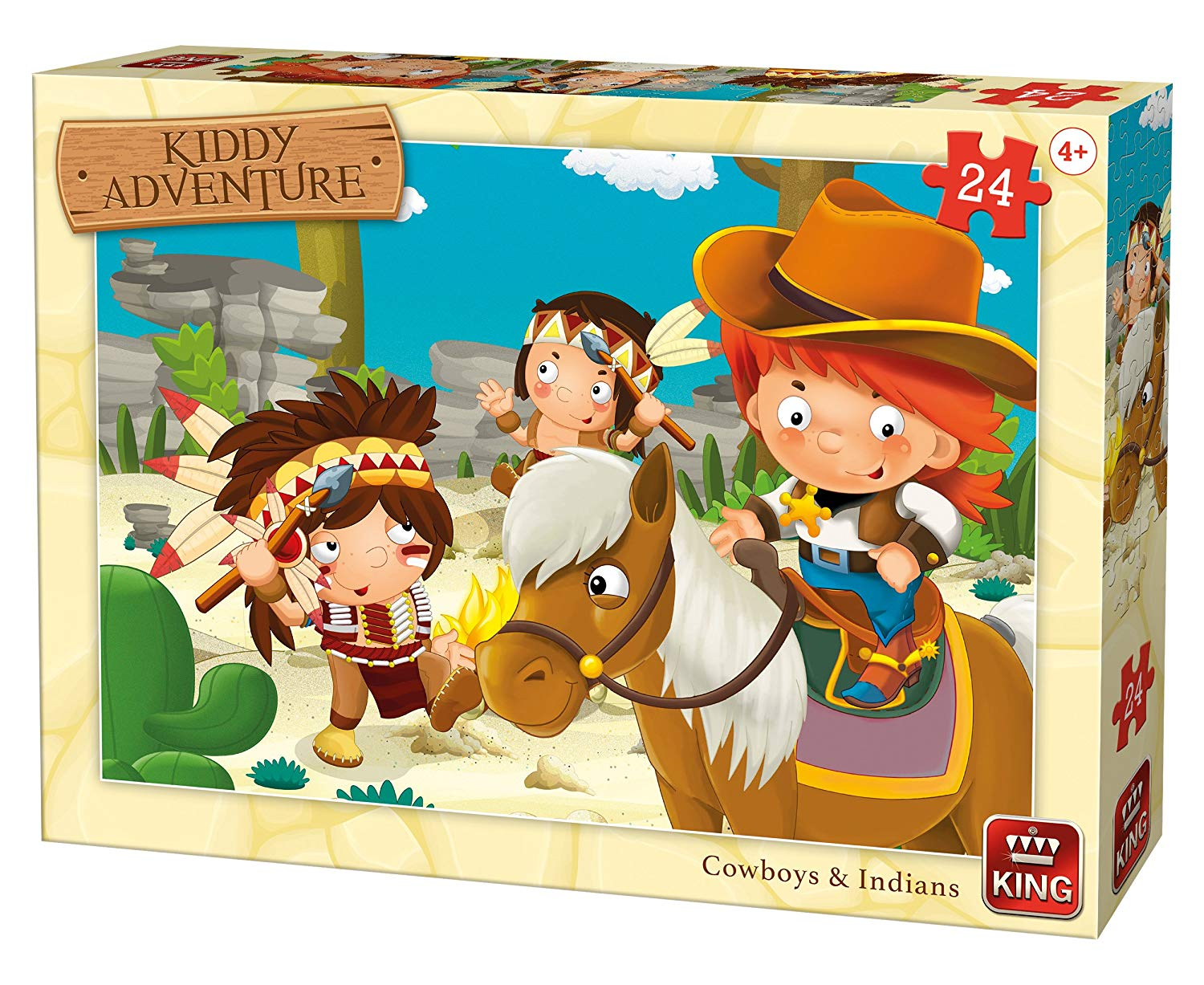 king-international-cow-boys-indians-24-teile-puzzle-king-puzzle-05789