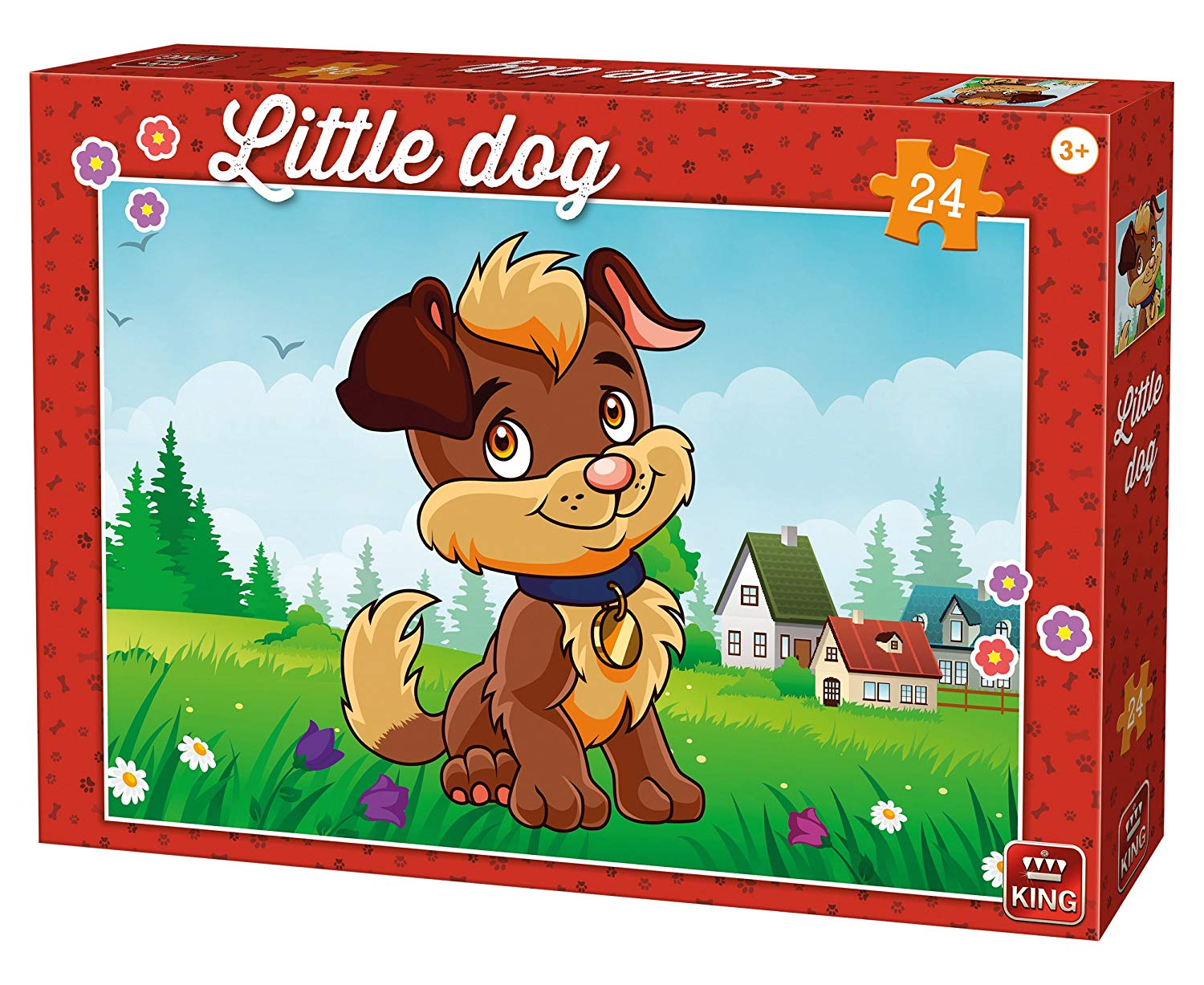 king-international-little-dog-24-teile-puzzle-king-puzzle-05798, 6.95 EUR @ puzzle-de