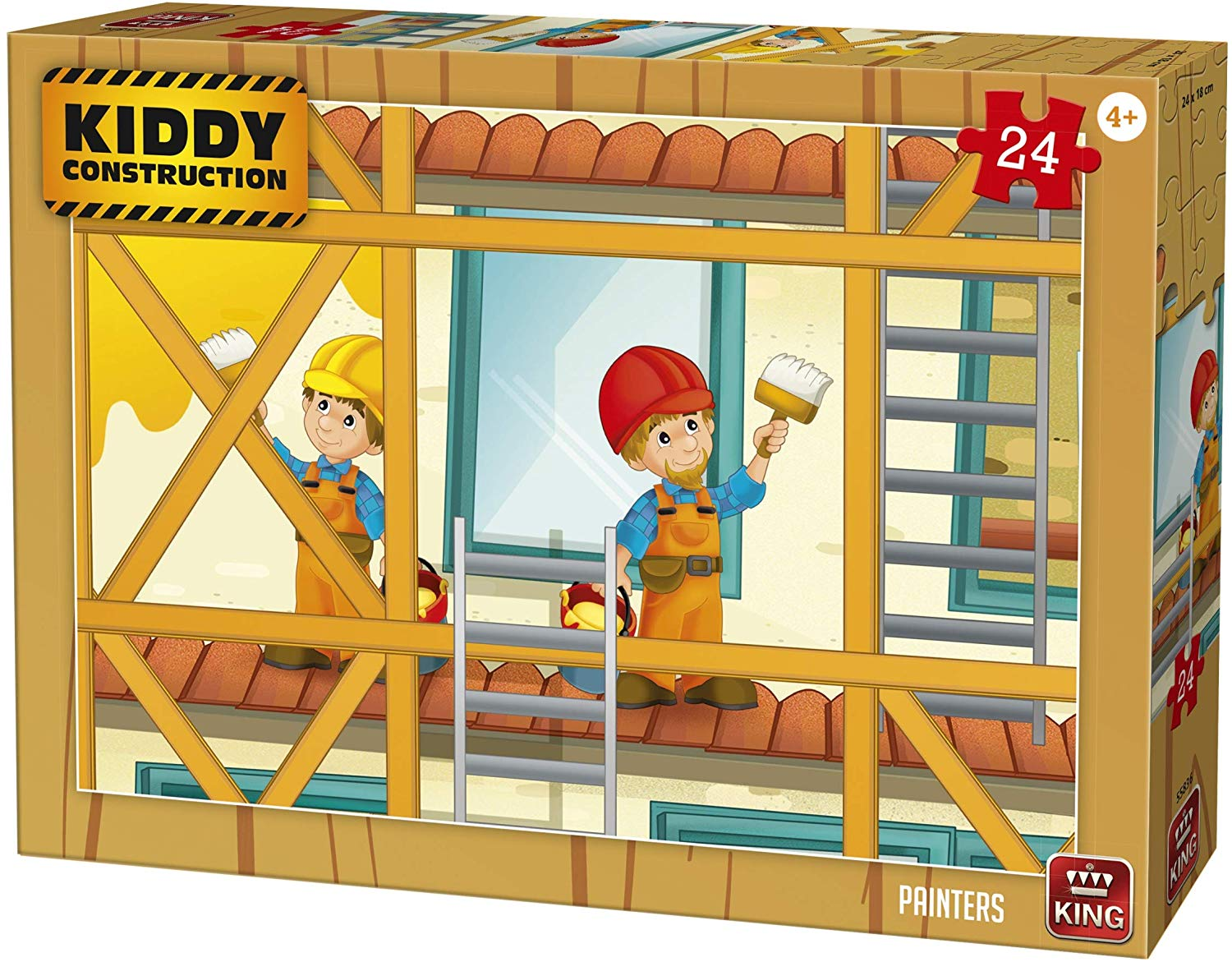 king-international-kiddy-construction-painters-24-teile-puzzle-king-puzzle-55836