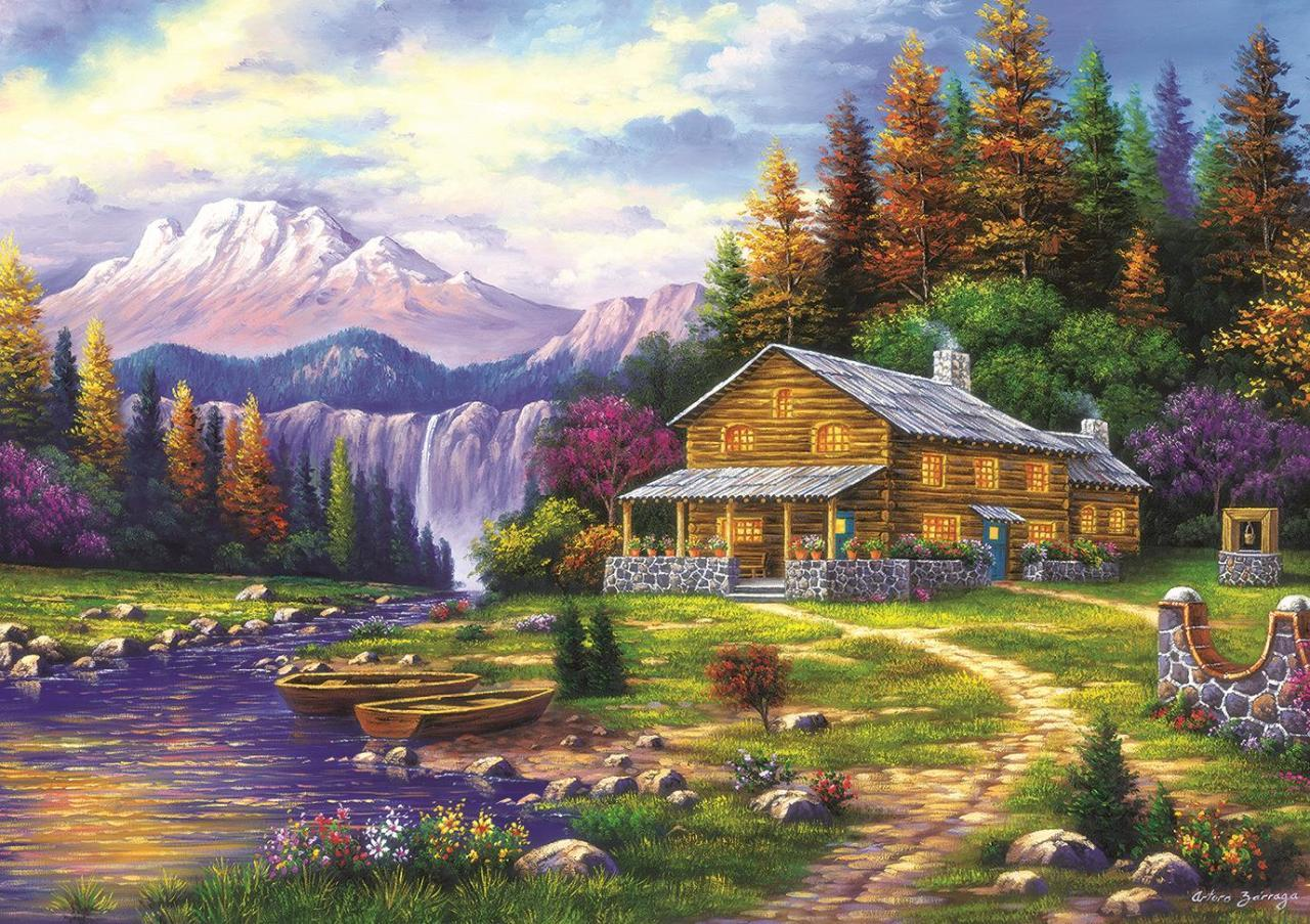 art-puzzle-sunset-in-the-mountains-1000-teile-puzzle-art-puzzle-4230