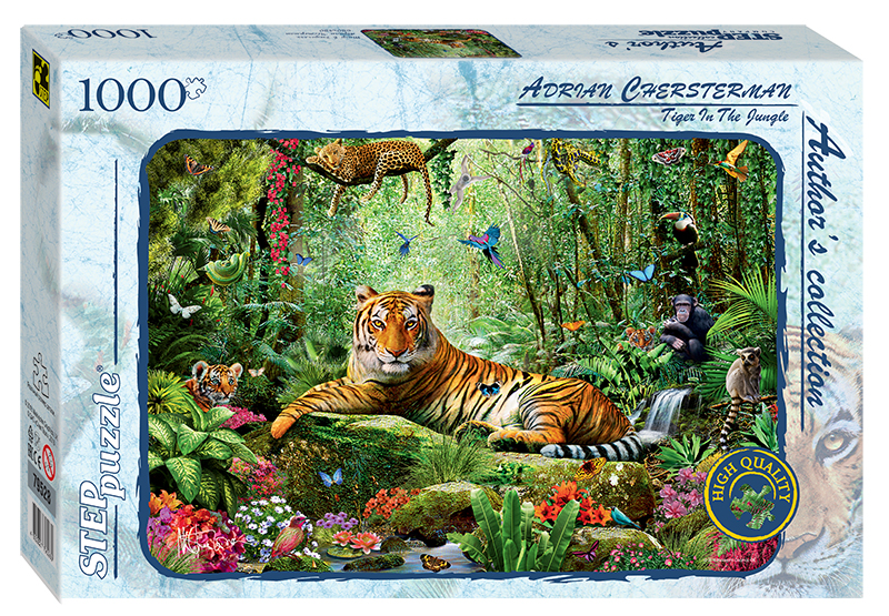 step-puzzle-tiger-im-dschungel-1000-teile-puzzle-step-puzzle-79528