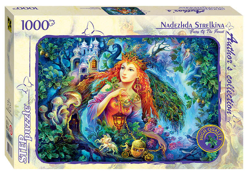 step-puzzle-nadezhda-strelkina-fairy-of-the-forest-1000-teile-puzzle-step-puzzle-79537