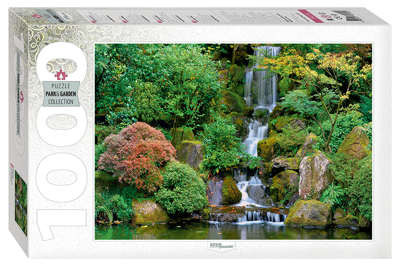step-puzzle-waterfall-in-portland-japanese-garden-1000-teile-puzzle-step-puzzle-79115
