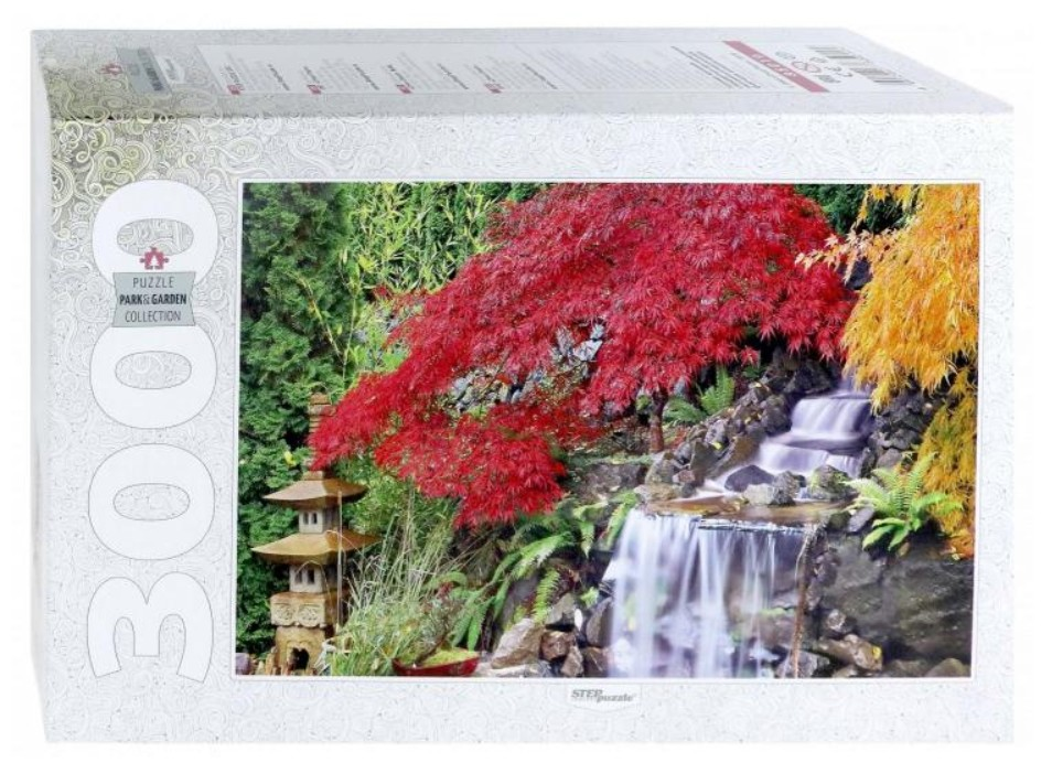 step-puzzle-waterfall-in-the-japanese-garden-3000-teile-puzzle-step-puzzle-85019
