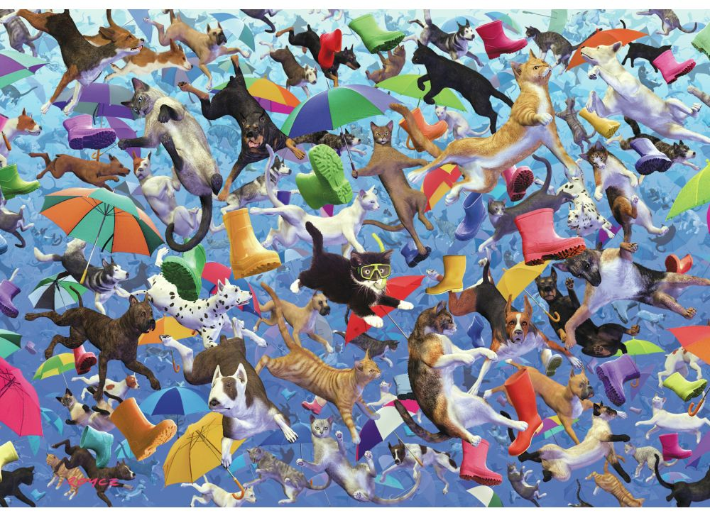 wentworth-holzpuzzle-royce-b-mcclure-raining-cats-and-dogs-250-teile-puzzle-wentworth-582713