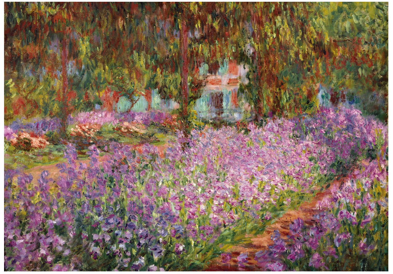 wentworth-holzpuzzle-claude-monet-the-artists-garden-in-giverny-250-teile-puzzle-wentworth-74100