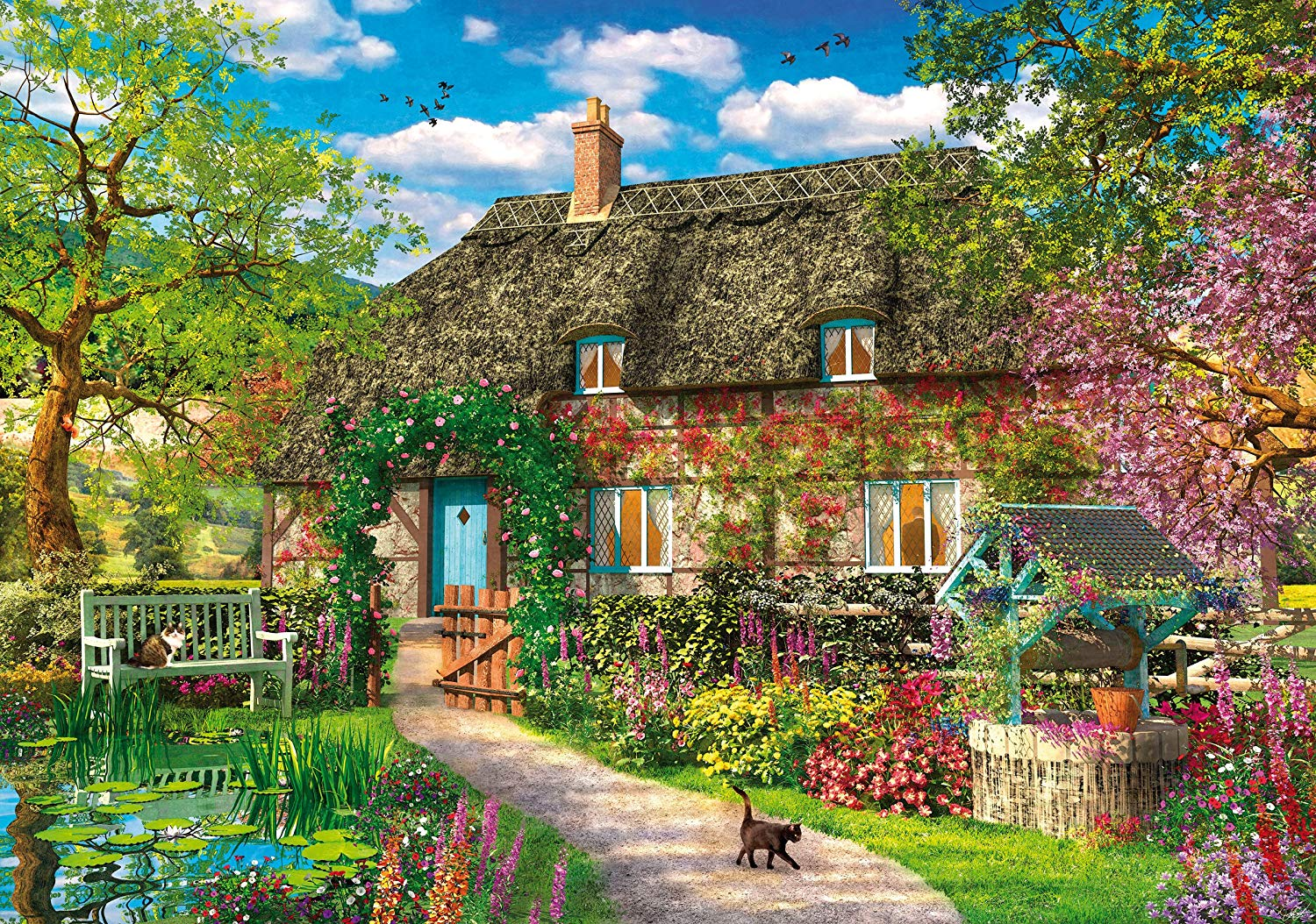 wentworth-holzpuzzle-dominic-davison-the-old-cottage-250-teile-puzzle-wentworth-831502
