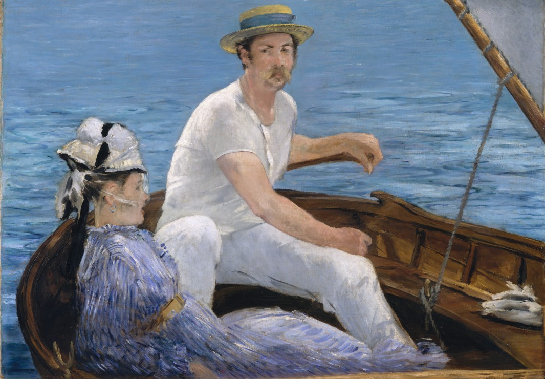Edouard Manet - Boating, 1874