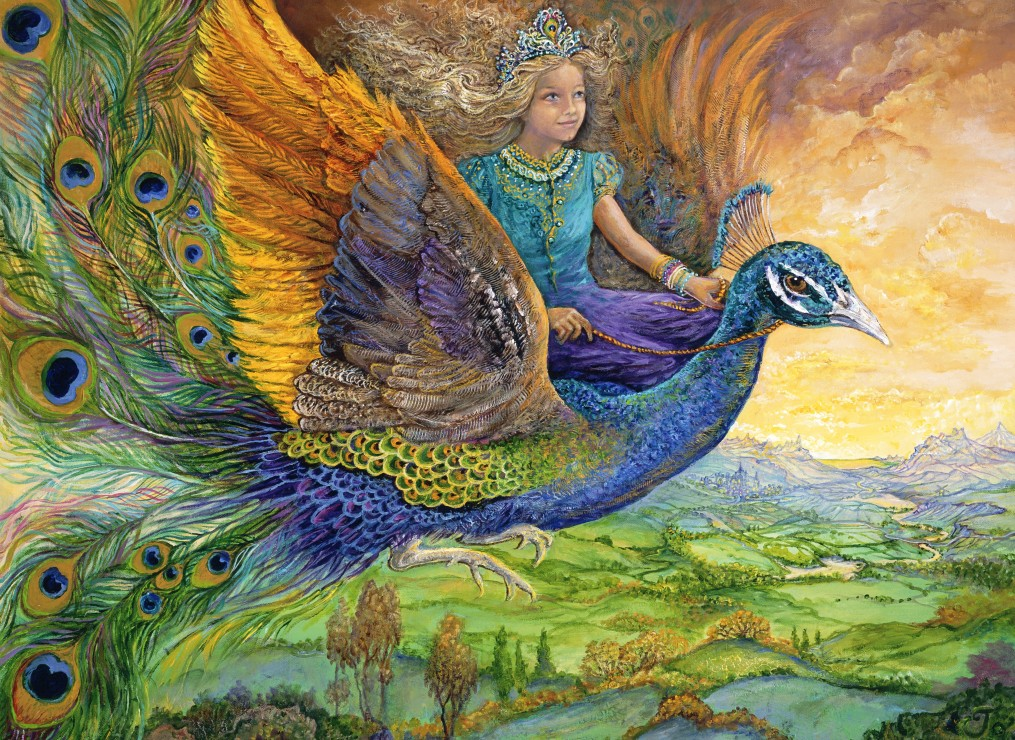 grafika-kids-josephine-wall-peacock-princess-300-teile-puzzle-grafika-kids-01560