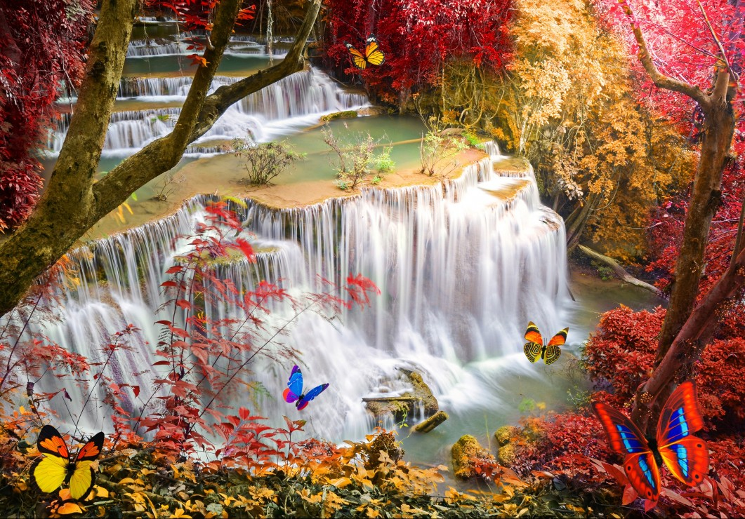 grafika-kids-deep-forest-waterfall-100-teile-puzzle-grafika-kids-01998