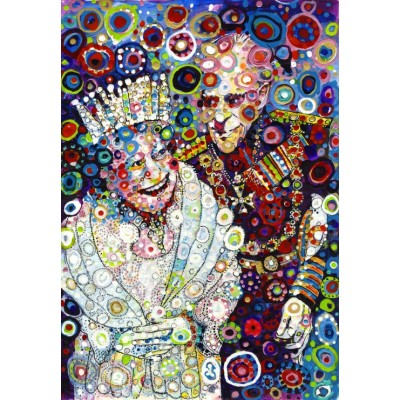 Ausgefallenkreatives - Grafika Kids Sally Rich The Queen and Prince Philip 100 Teile Puzzle Grafika Kids 02086 - Onlineshop Puzzle.de
