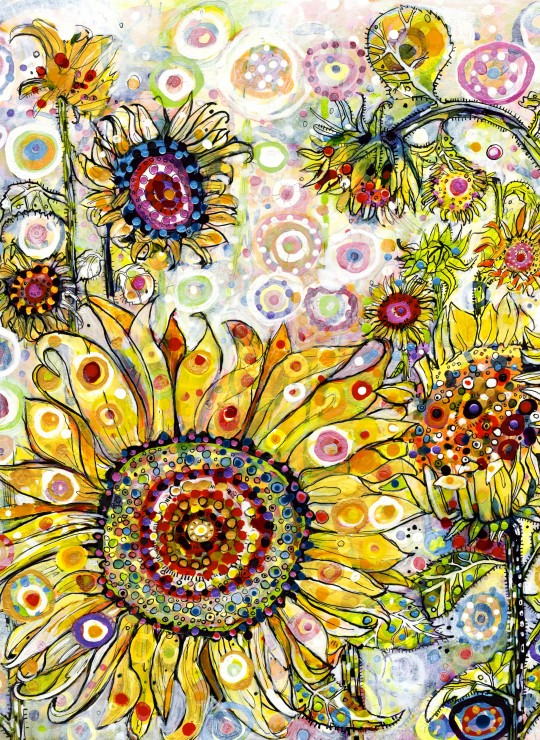 Sally Rich - Sunflowers