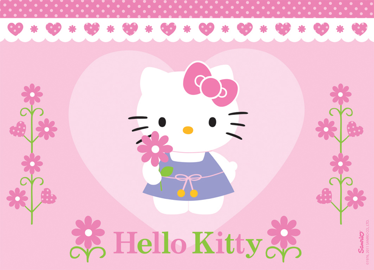 eine-blume-fur-hello-kitty