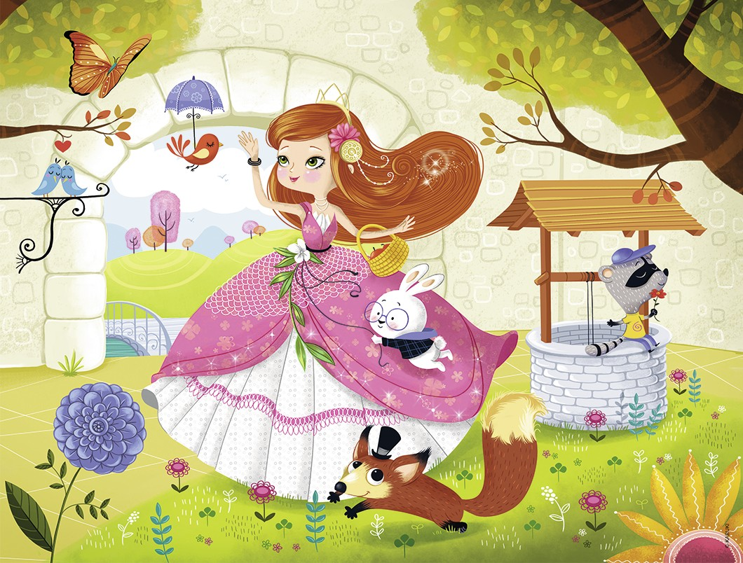 nathan-prinzessin-30-teile-puzzle-nathan-86356