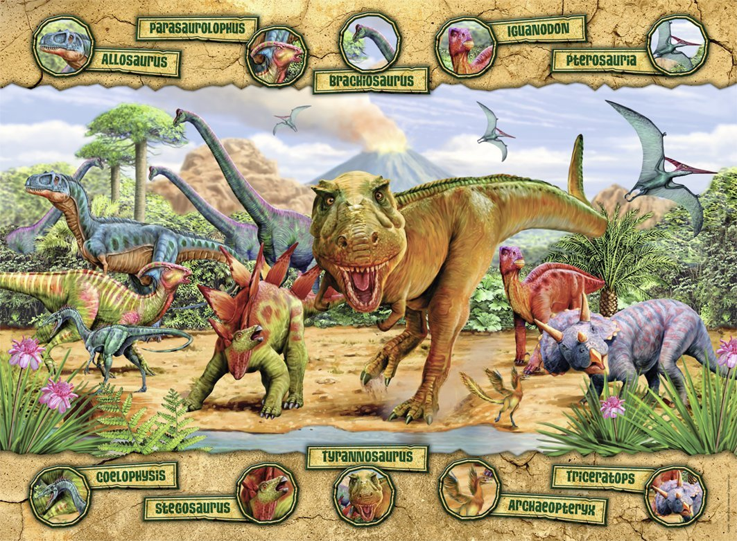 nathan-dinosaurier-150-teile-puzzle-nathan-86836