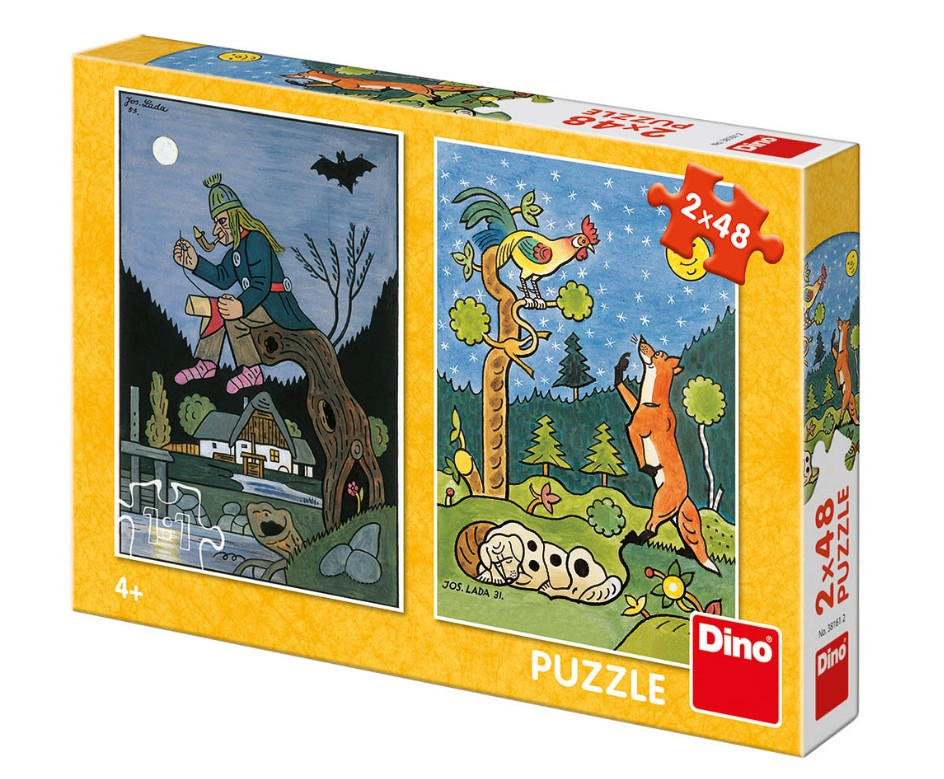 dino-2-puzzles-fairy-tales-48-teile-puzzle-dino-38161