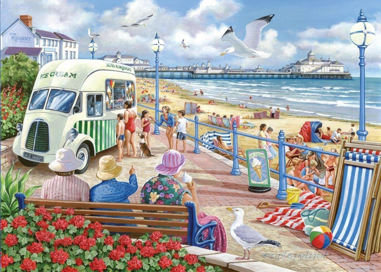 the-house-of-puzzles-sun-sea-sand-1000-teile-puzzle-the-house-of-puzzles-3299, 13.95 EUR @ puzzle-de