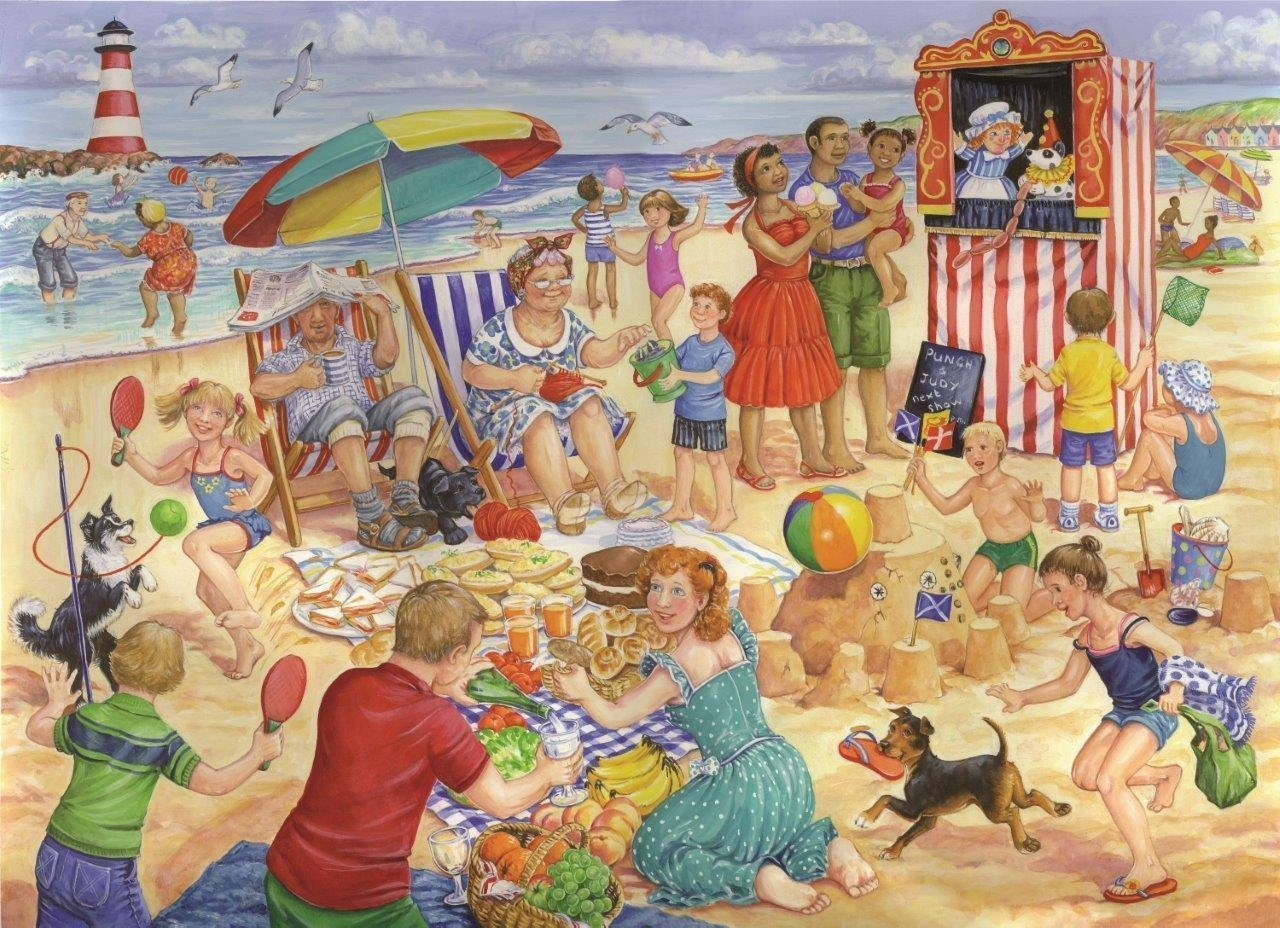The House of Puzzles XXL Teile - Trip To The Seaside 250 Teile Puzzle The-House-of-Puzzles-3459