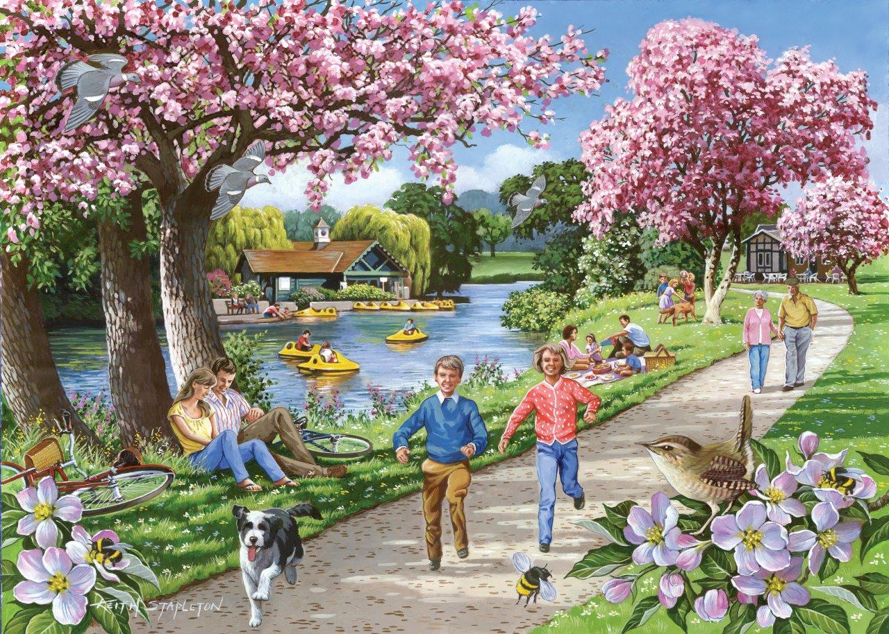 the-house-of-puzzles-xxl-teile-apple-blossom-time-500-teile-puzzle-the-house-of-puzzles-4326