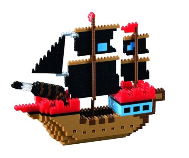 brixies-nano-3d-puzzle-piratenschiff-level-4-726-teile-puzzle-brixies-58788
