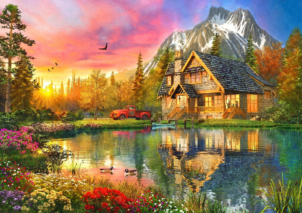 bluebird-puzzle-the-mountain-cabin-1000-teile-puzzle-bluebird-puzzle-70164