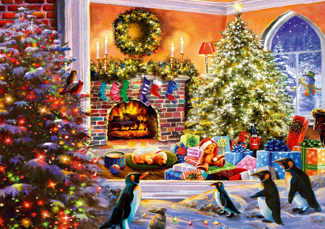 Bluebird Puzzle A Magical View to Christmas 1000 Teile Puzzle Bluebird-Puzzle-70228-P