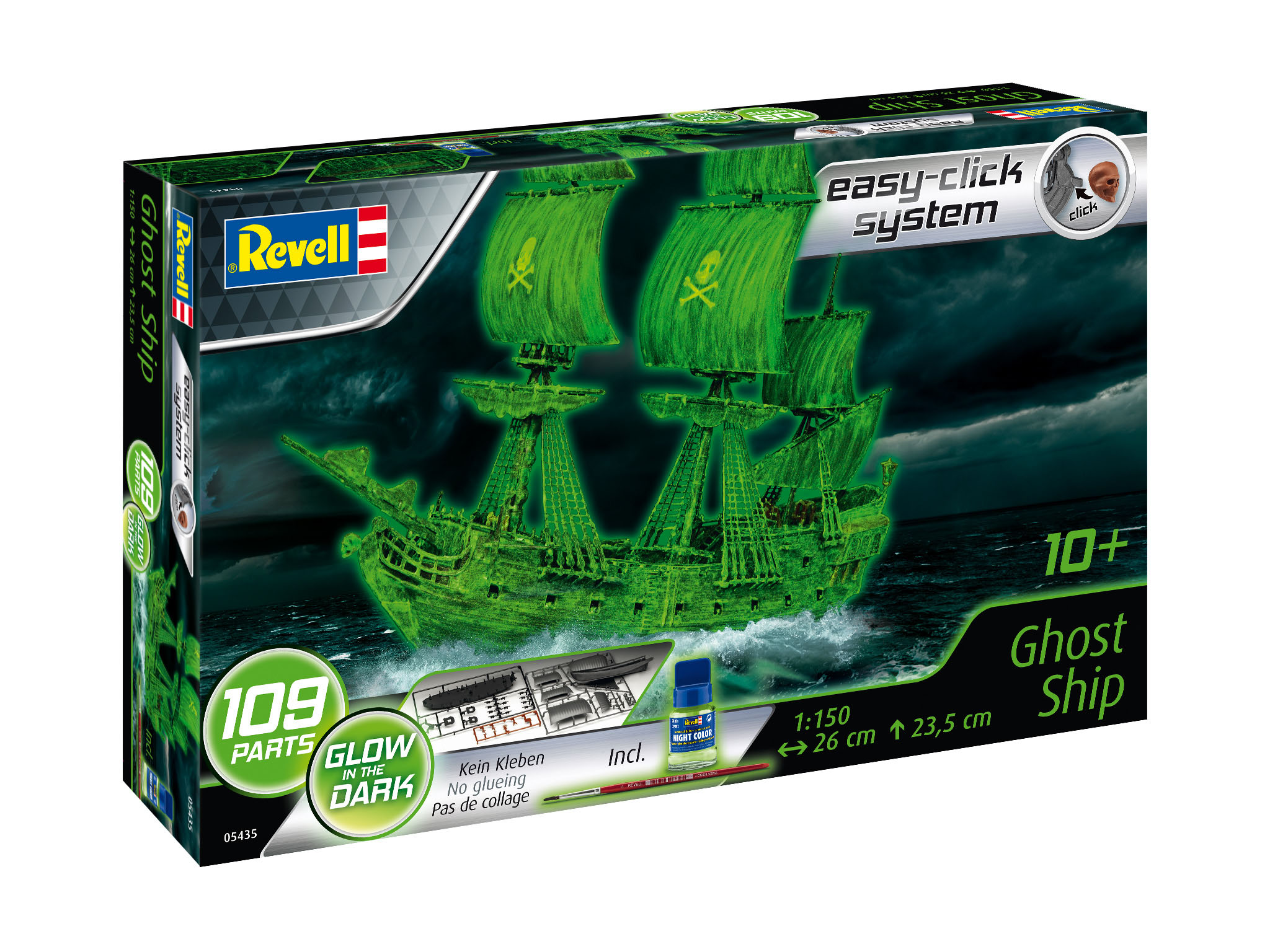 Modellbau - 3D Puzzle Easy Click System - Ghost Ship