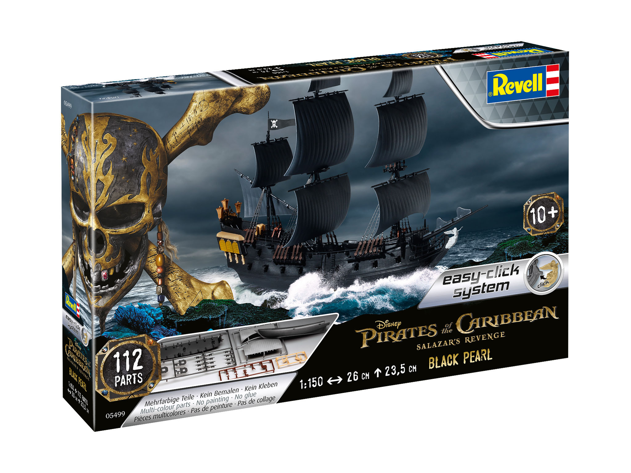 Modellbau - 3D Puzzle Easy Click System - Black Pearl