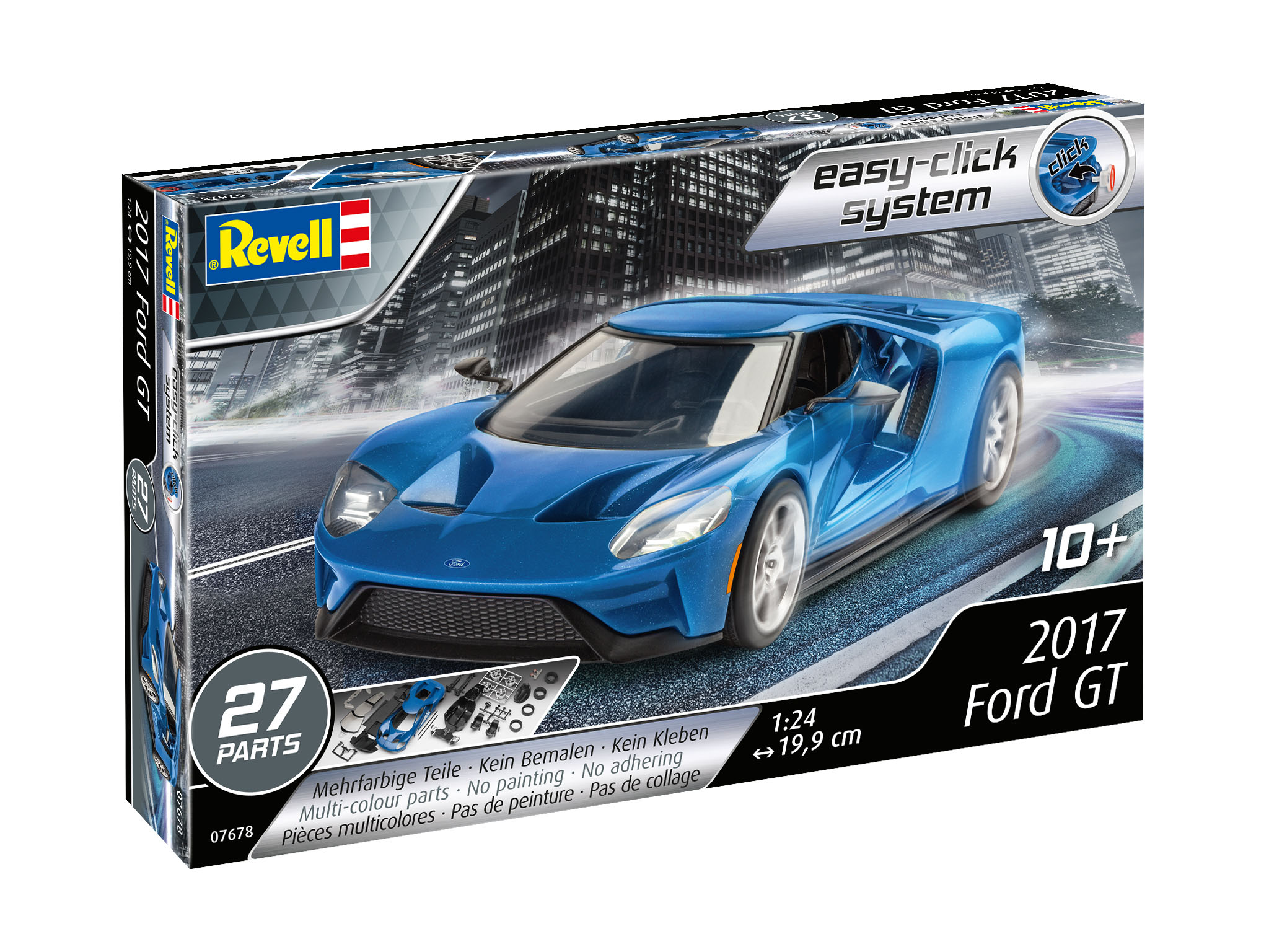 Modellbau - 3D Puzzle Easy Click System - 2017 Ford GT