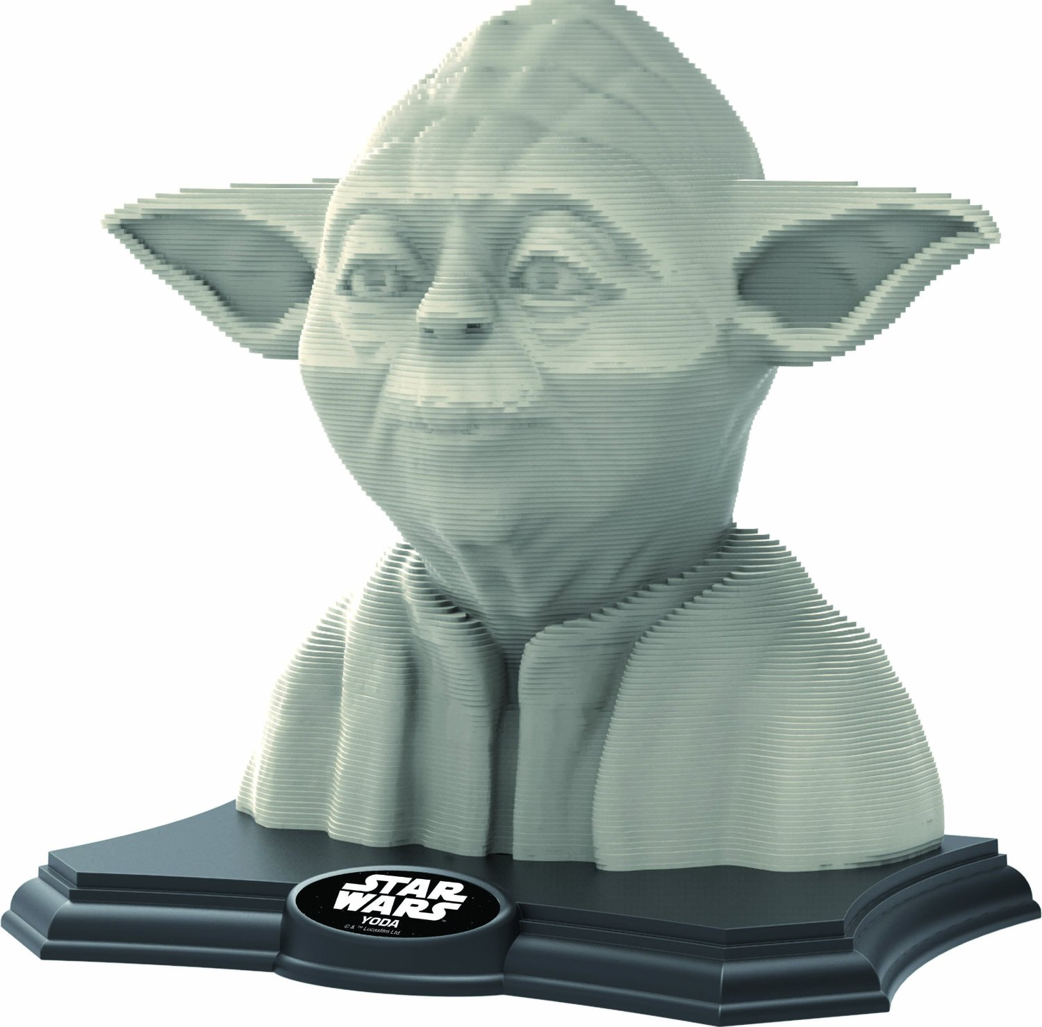 3D Sculpture Puzzle - Star Wars - Yoda
