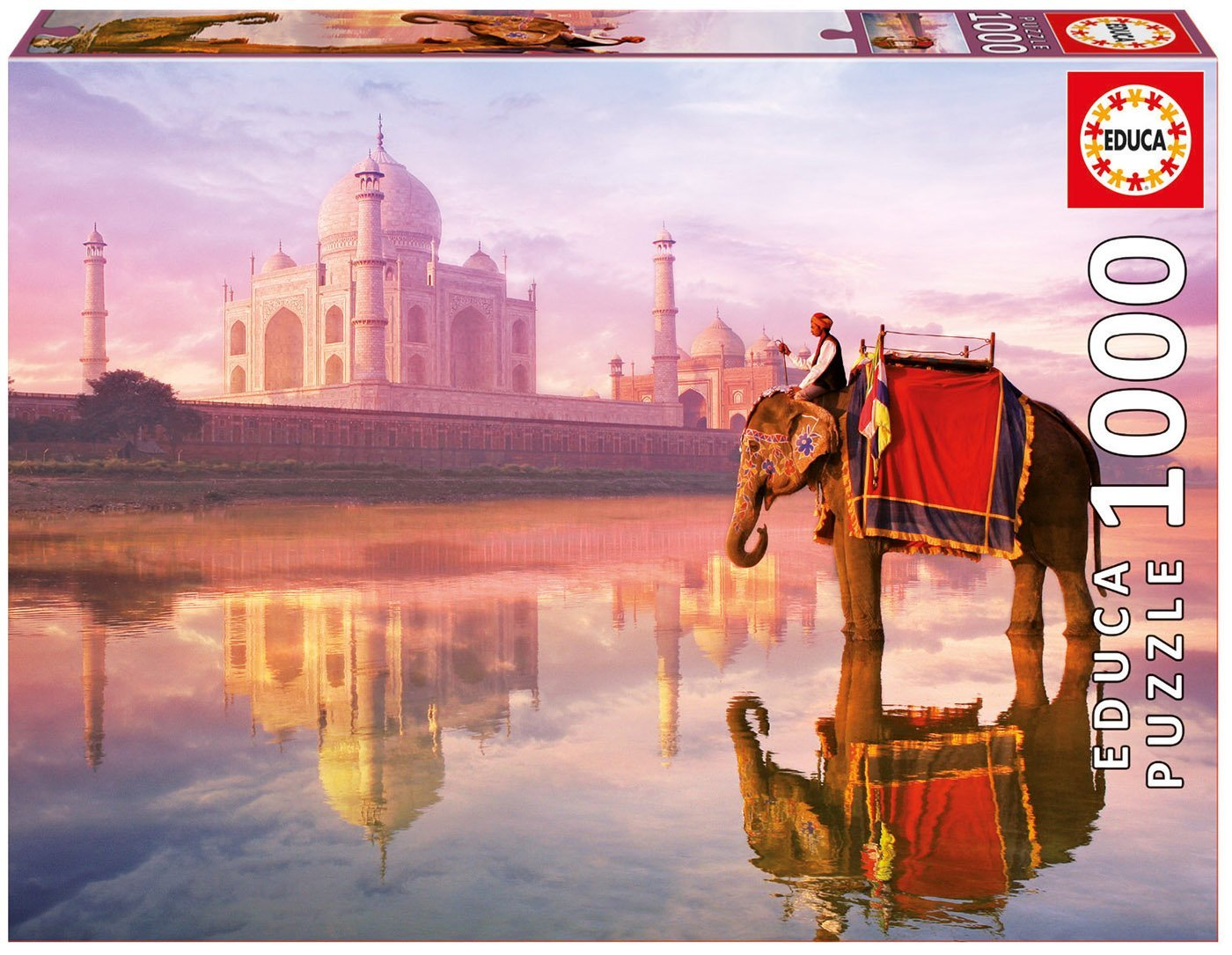 elephant-at-taj-mahal
