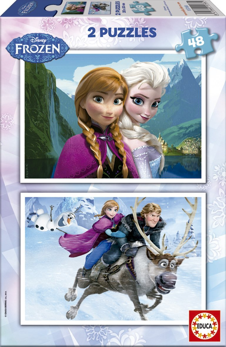 2-puzzles-disney-eiskonigin-frozen