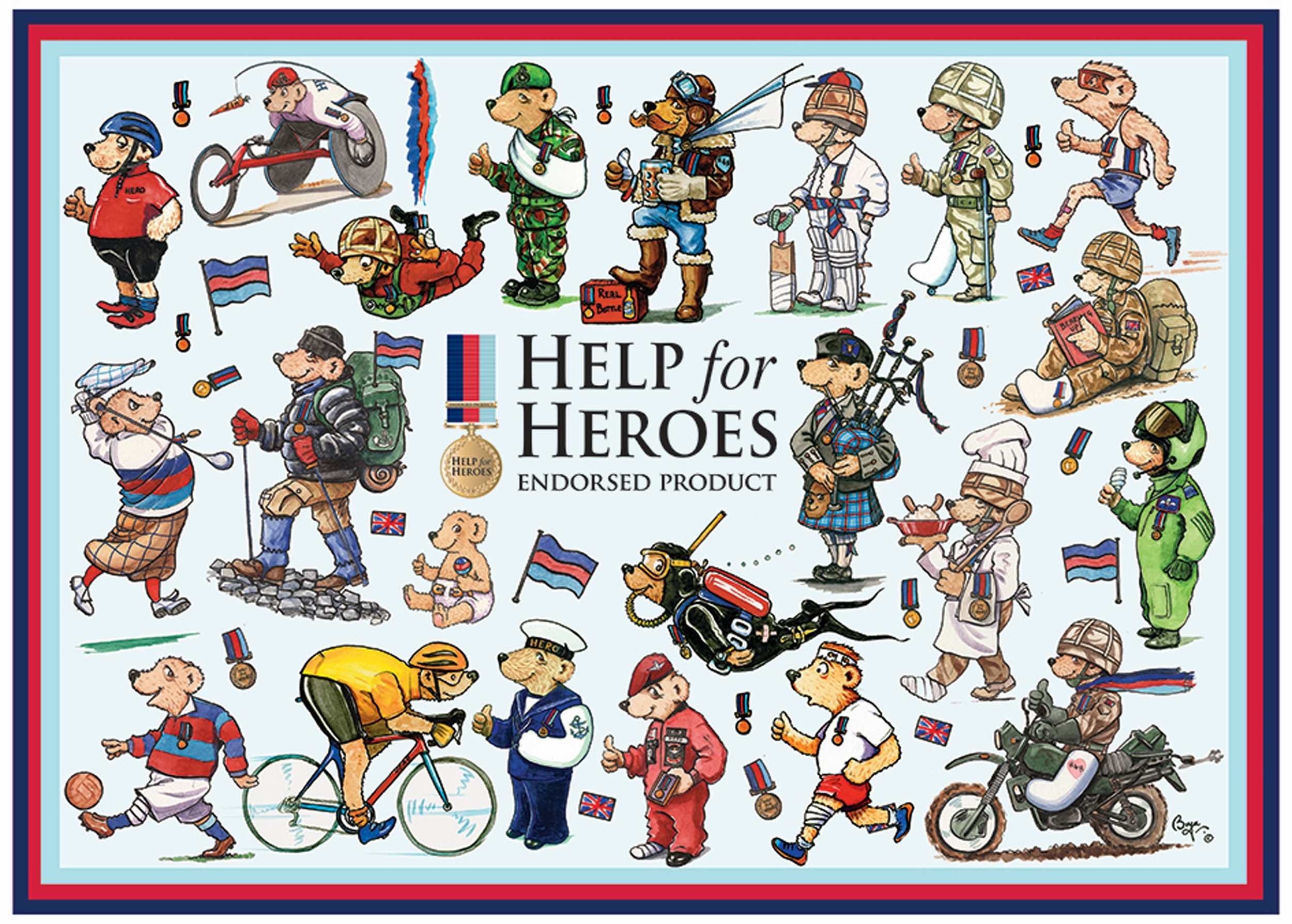otter-house-puzzle-help-for-heroes-bears-1000-teile-puzzle-otter-house-puzzle-73337