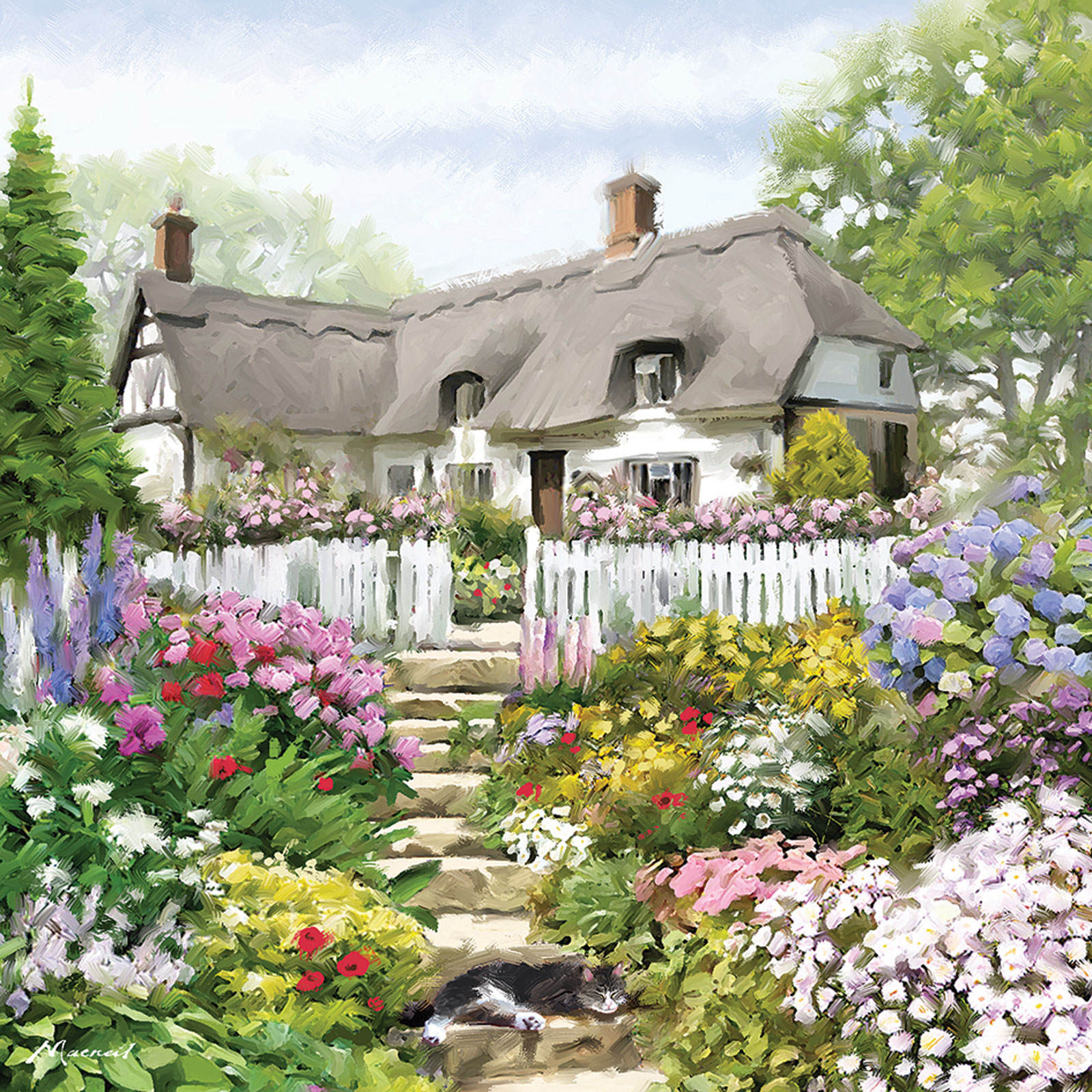 otter-house-puzzle-country-cottage-1000-teile-puzzle-otter-house-puzzle-74133