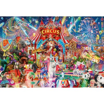 Ausgefallenkreatives - Jumbo A Night at the Circus 5000 Teile Puzzle Jumbo 18871 - Onlineshop Puzzle.de