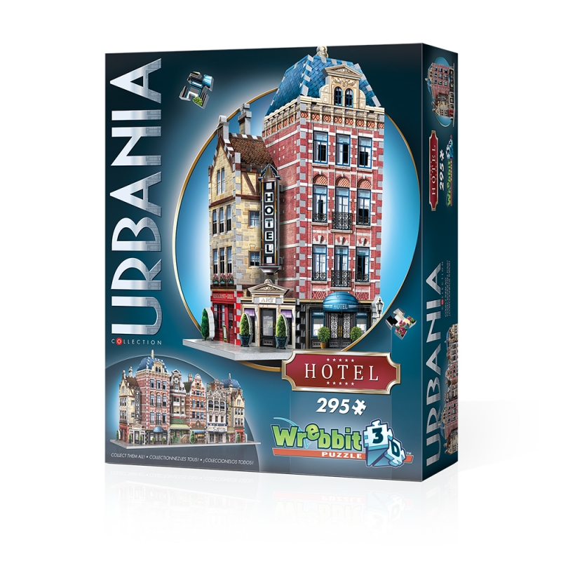 3D Puzzle - Urbania Collection - Hotel