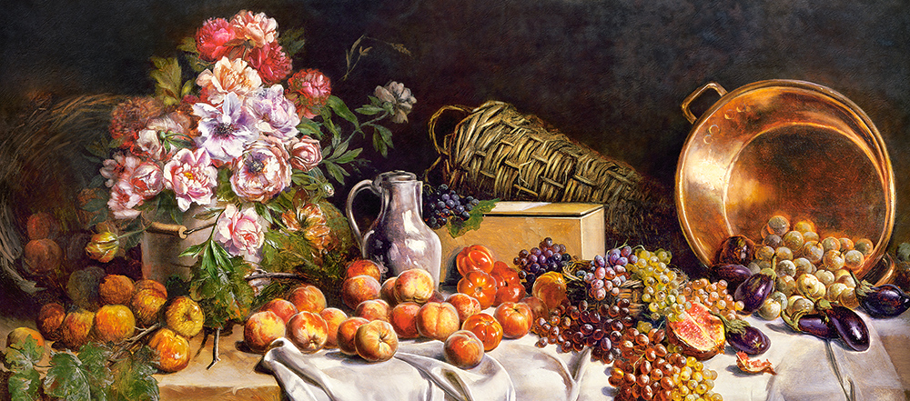 castorland-still-life-with-flowers-and-fruit-on-a-table-600-teile-puzzle-castorland-060108