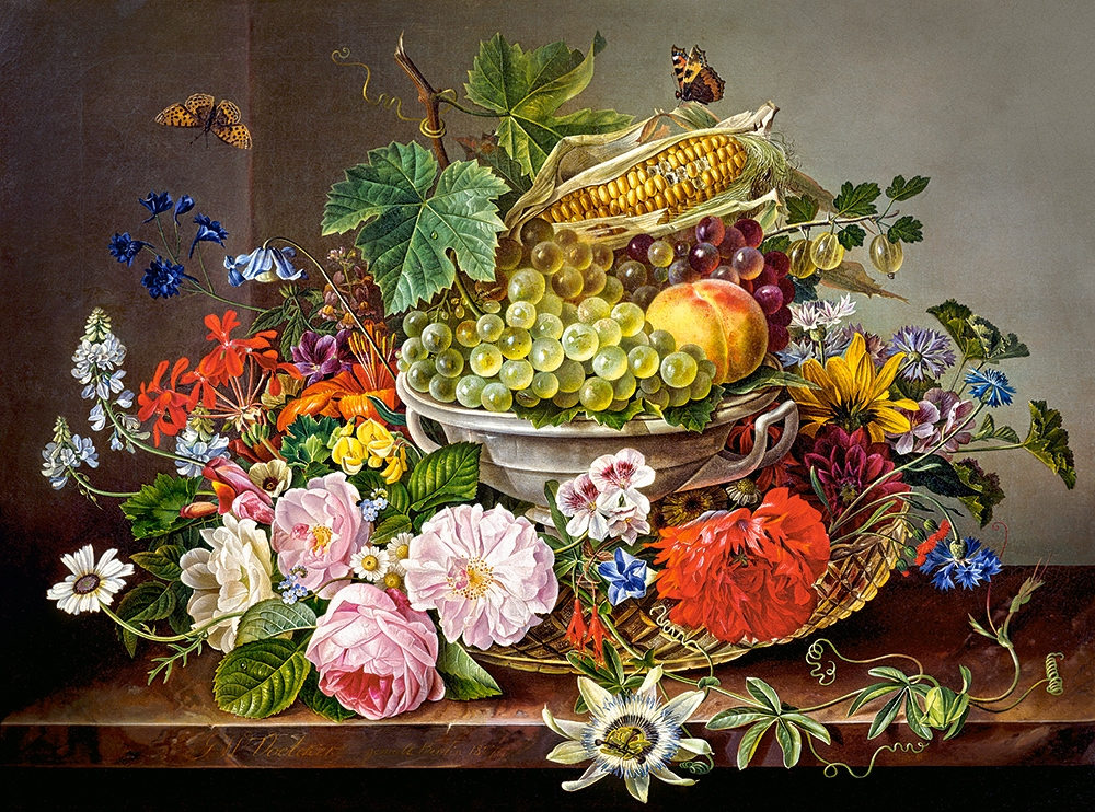 castorland-still-life-with-flowers-and-fruit-basket-2000-teile-puzzle-castorland-200658