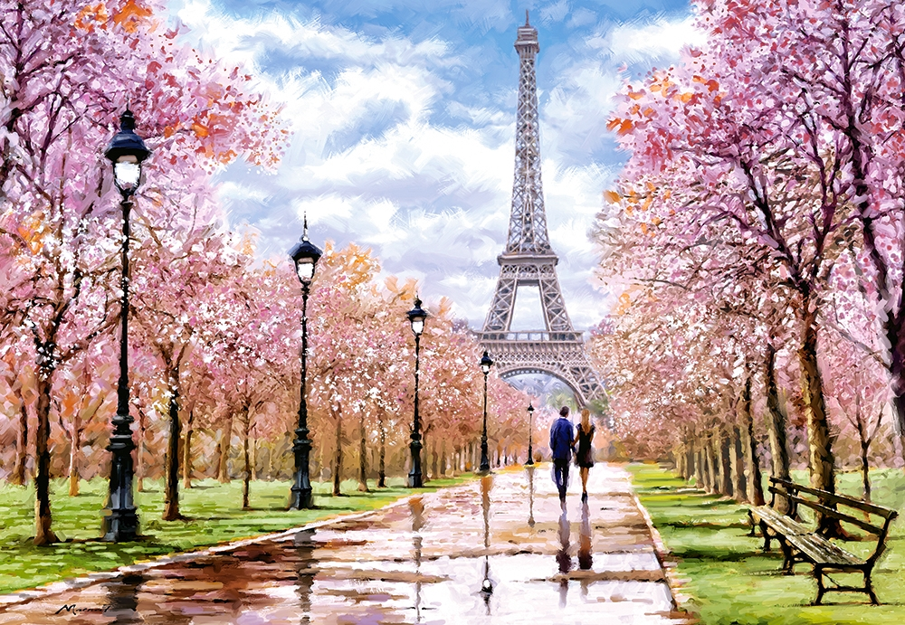 castorland-romantic-walk-in-paris-1000-teile-puzzle-castorland-104369